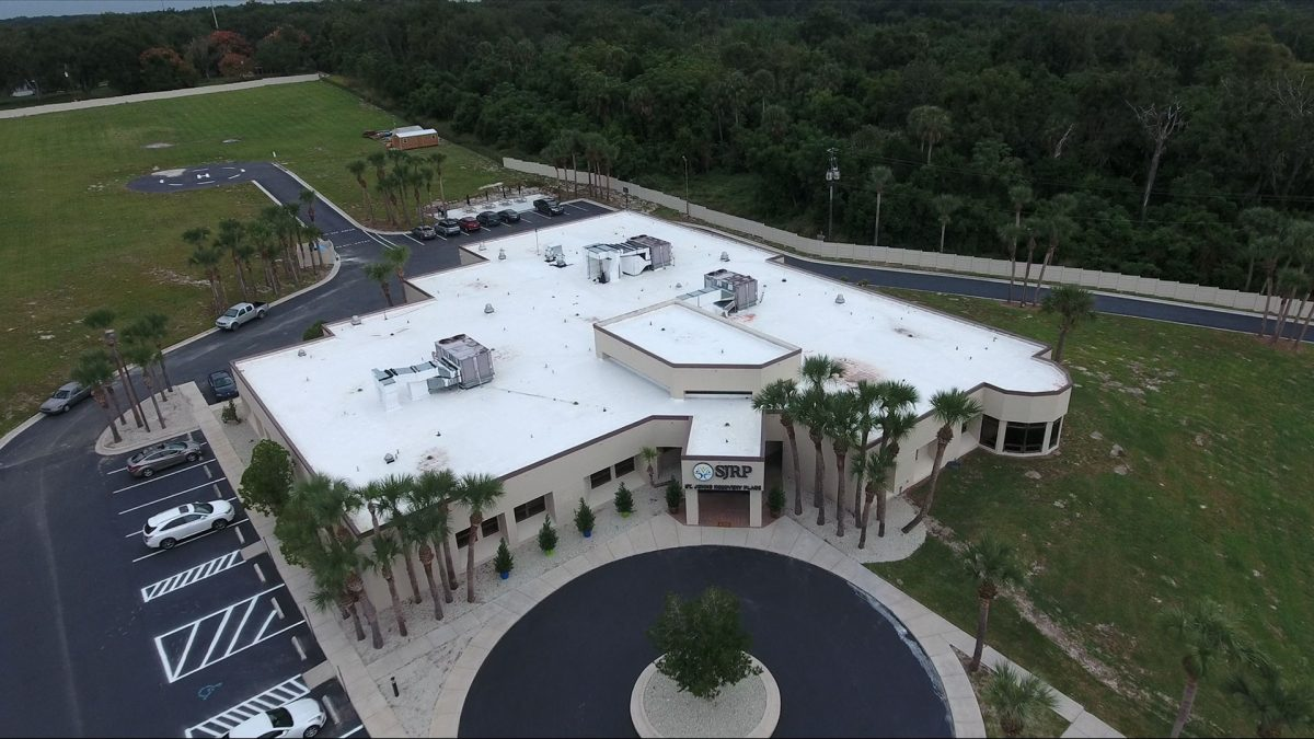 Aerial view drug and alcohol rehab in Florida