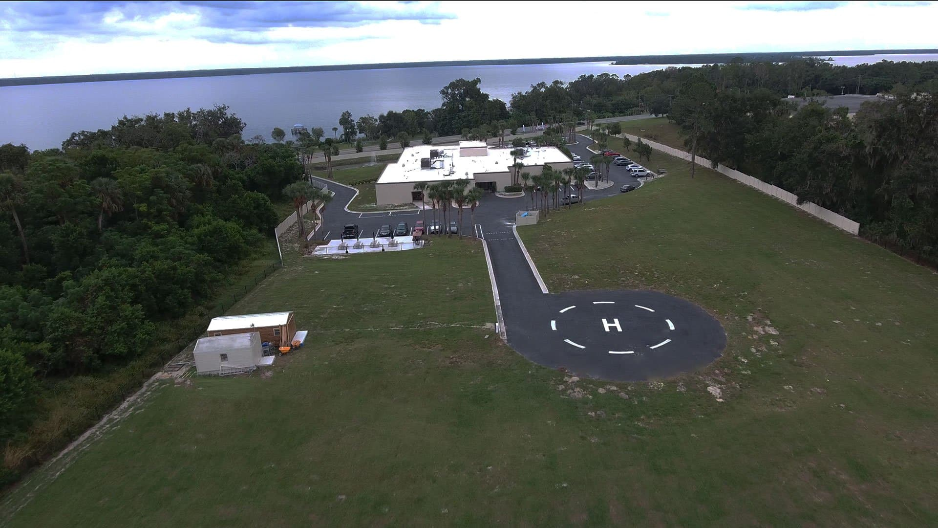 aerial view of our drug rehab fl location