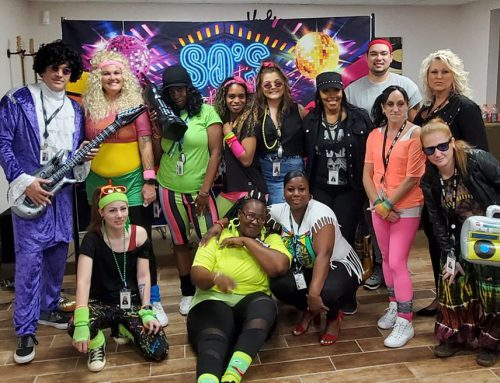 SJRP Celebrates the 80s in a Special 80s Throwback Potluck Lunch